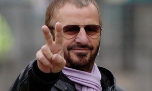 Ringo Starr Peace Sign
